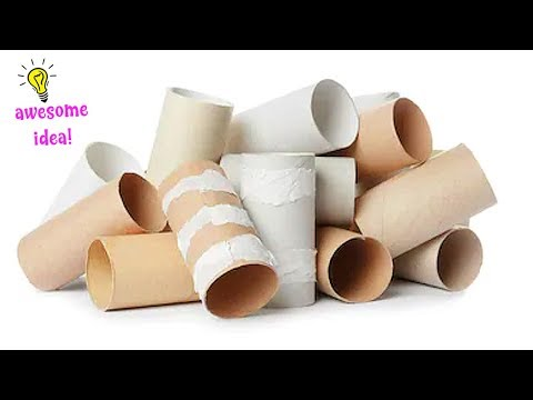7 Ways To ReUse/Recycle Empty Tissue Roll| Best Out of Waste