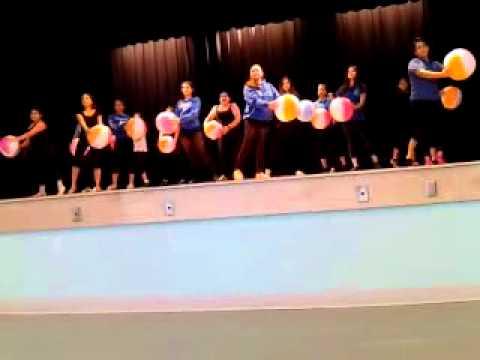 Zelda glazer Dance show rehearsal - surfin USA