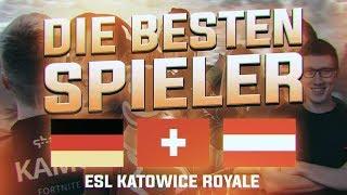 😱💪DIE BESTEN PRO SPIELER IN FORTNITE | Unsere Teilnehmer für das ESL Katowice Royale