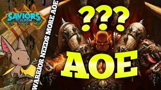 Warrior Needs 3-4 More AoE Clears | Firebat Hearthstone | Saviors of Uldum