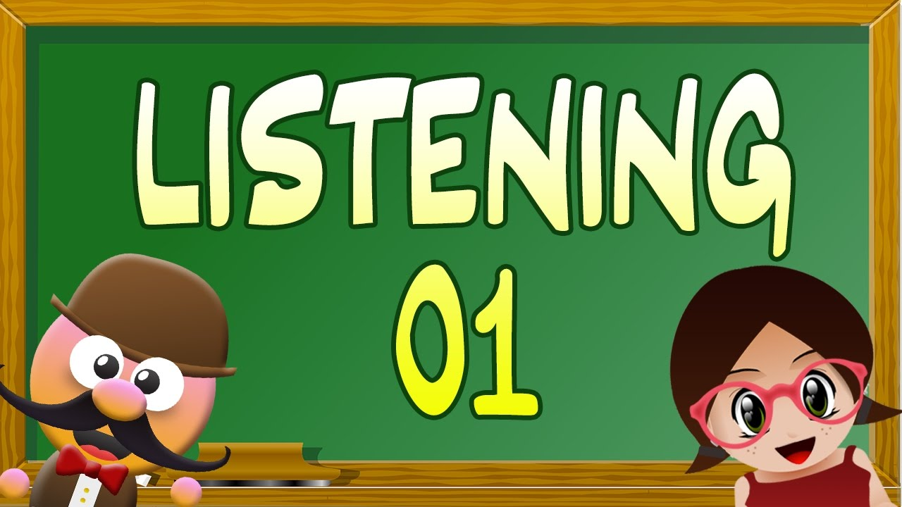 INGLÉS PARA NIÑOS CON MR PEA - LISTENING EXERCISE 01 - YouTube