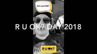 R u ok? Day 2018 💜