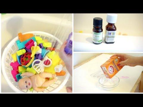 Как мыть и дезинфицировать игрушки  DIY Натуральные моющие средства   Удаление пятен