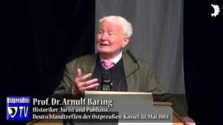 Arnulf Baring: Die Politische Korrektheit ist eine Pest, die unser Land vergiftet!