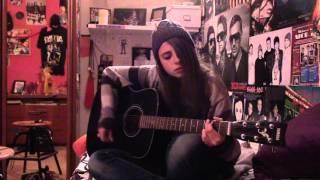 best of me-sum 41 acoustic cover (chris iero)