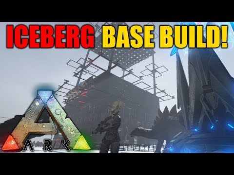 ICEBERG PVP BASE BUILD! - Tribe Official PVP - Ark Survival Evolved