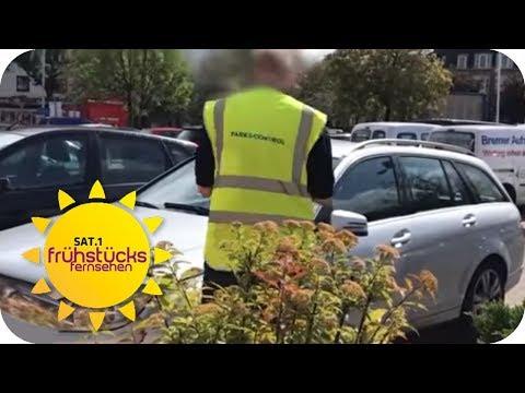 So DREIST Werden KUNDEN Beim Parken ABGEZOCKT    SAT.1 Frühstücksfernsehen   TV