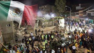 [라이브 이슈] 멕시코 12일 만에 또 강진…불의고리 지진 잇따라 / 연합뉴스TV (YonhapnewsTV)