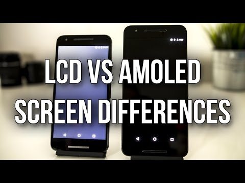 Differences Between AMOLED and LCD Screens - Test With Nexus 6P And 5X