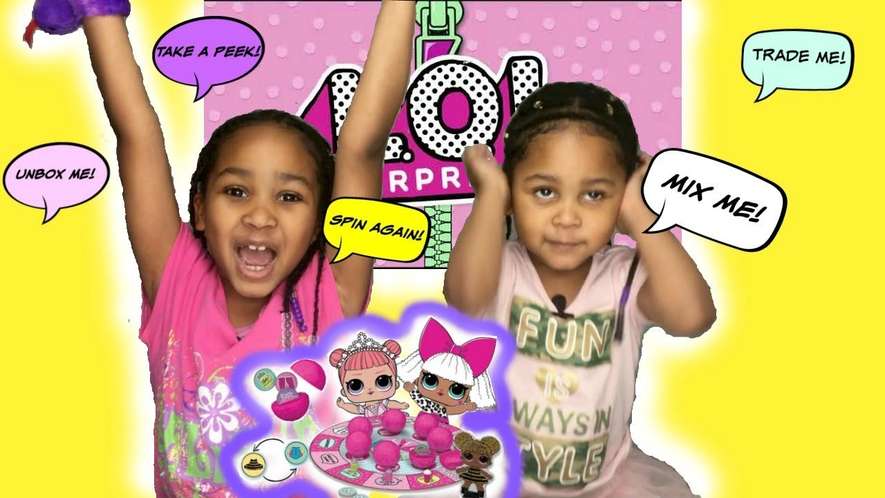 Download LOL Doll Suprise Board Game! LOL 7 Layers of Fun Game (😎 kgurlz tv) #collectlol