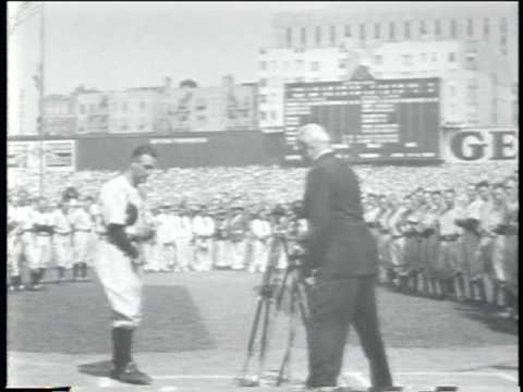 Movietone News (1939): Lou Gehrig Appreciation Day