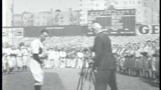 Movietone News (1939): Lou Gehrig Appreciation Day
