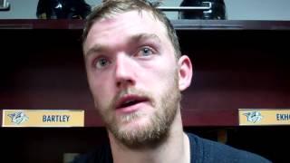 Mattias Ekholm - Post game - Nashville Predators vs Columbus Blue Jackets preseason