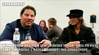 WonderCon 2018 | Suicide Squad: Hell to Pay | Greg Grunberg & Dania Ramirez