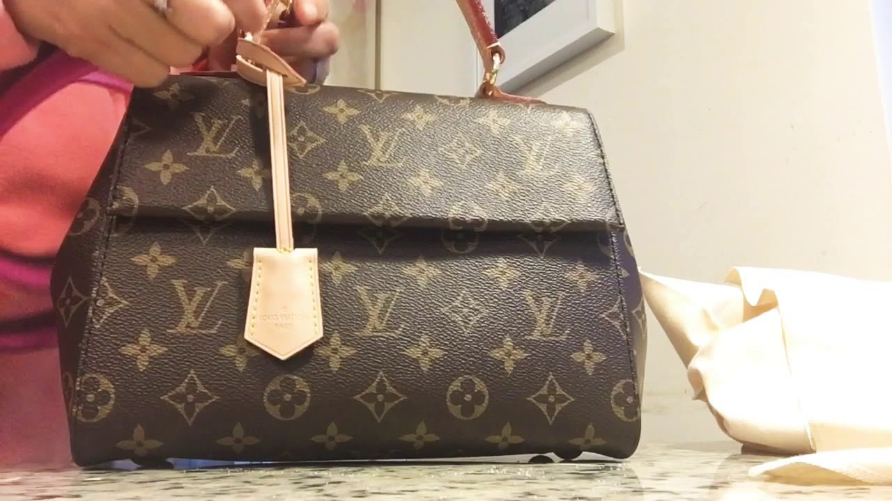 d8b84dd421f1 Louis Vuitton Cluny BB reveal - YouTube