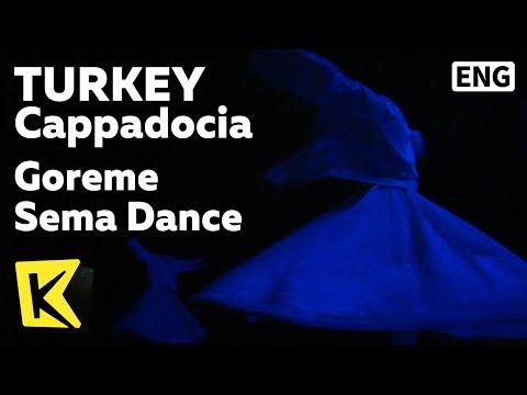 【K】Turkey Travel-Cappadocia[터키 여행-카파도키아]괴레메, 역사와 종교를 기리는 춤/Goreme Sema Dance/Night Scene/Gaziantep