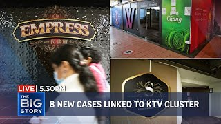 19 new locally transmitted Covid-19 cases; 8 linked to KTV cluster | THE BIG STORY