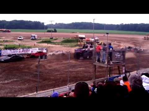 Monster truck at I-96 Speedway
