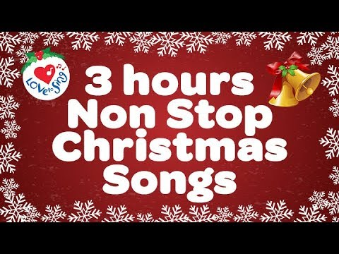 POPULAR CHRISTMAS SONGS 3 HOURS NON STOP - MERRY CHRISTMAS