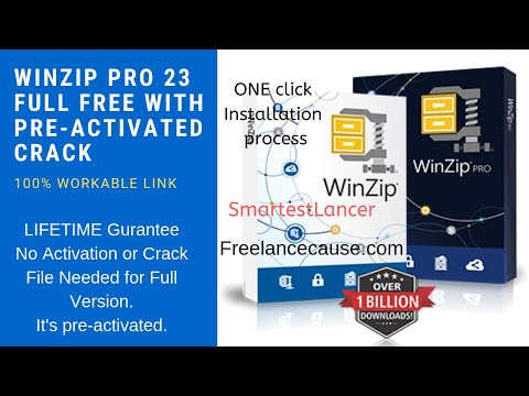 Winzip Pro 23 With Crack Preactivated & Serial Key Download (100% Working) - One Click Installation