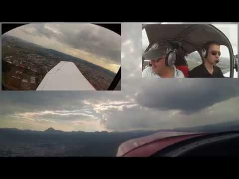 Balade en avion en Auvergne