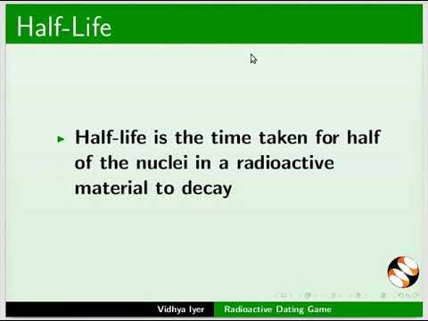 meaning of radioactive dating in chemistry