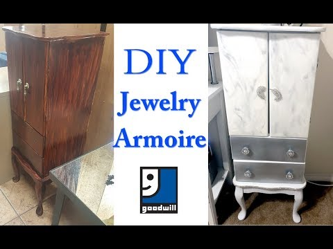 diy-jewelry-armoire-|-$10-goodwill-find