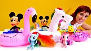 Детский сад Капуки Кануки с Литл Пони и Минни Маус.