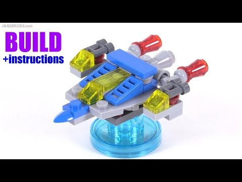 Build With Me Lego Dimensions Bennys Spaceship V1 Youtube