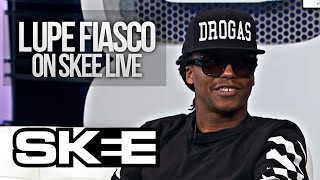 lupe fiasco speaks on his relationship with kanye jay z skee live season 2