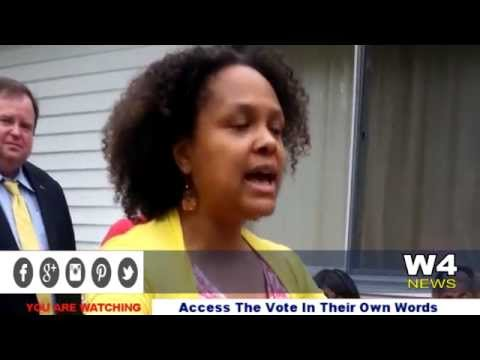 W4 News – Access The Vote – In Their Own Words – Nyesha McCauley – 6/20/2015