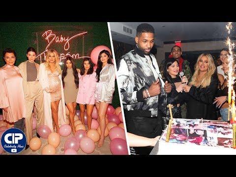 Khloe Kardashian & Tristan Thompson Celebrate Birthday After Baby Shower