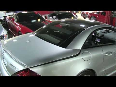 Mercedes-Benz SL Roof Action - Chicago Motor Cars Video Review