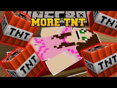 Minecraft: SO MUCH TNT! (ANTI-GRAVITY TNT, TNT RAIN, & TELEPORTING TNT!) Custom Command