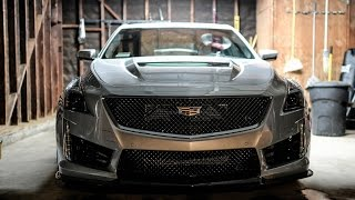 2017 Cadillac CTS-V Paint Protection film aka clear bra by Bemaro S.F.