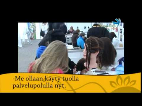 Savon Sanomat -teltta & Try a skill