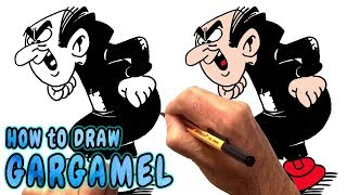 How to Draw Gargamel (NARRATED)