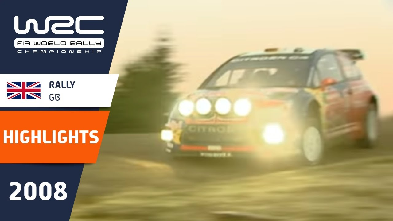 Rally GB 2008: WRC Highlights / Review / Results