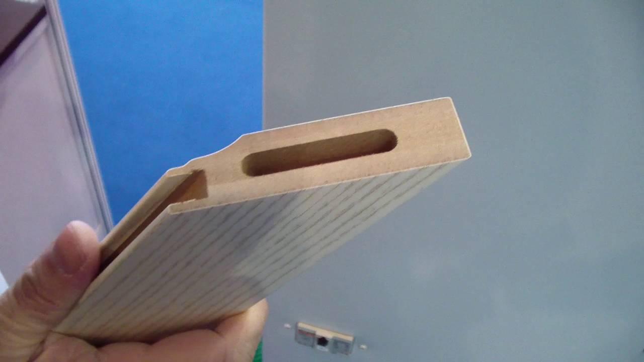 CNC 45 Degree Tenoner Mortiser For Mitered Cabinet Door Frames - YouTube