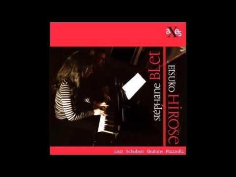Piazzolla - Libertango, Stéphane Blet & Etsuko Hirose, piano 4 hands