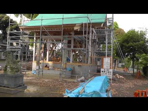 Building a Japan Shinto Shrine