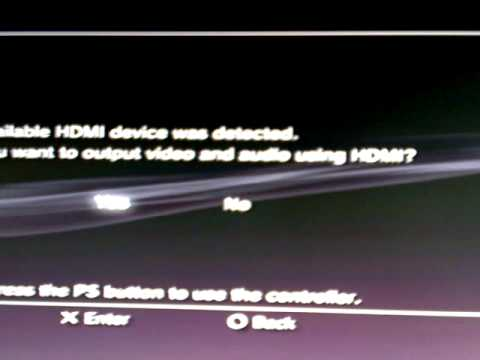 How To Fix PS3 Correct Hard Disc Not Found