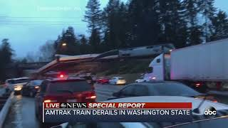 Video Amtrak train derails in Washington state download MP3, 3GP, MP4, WEBM, AVI, FLV Agustus 2018
