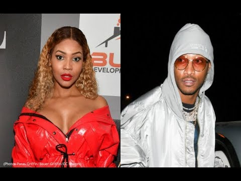 Future And Baby Mama Brittni Mealy Spotted On A Date She Back From Pregnant Joie Chavis