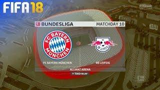 FIFA 18 - FC Bayern München vs. RB Leipzig @ Allianz Arena
