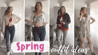 SPRING OUTFIT IDEAS 2019 | with items you already have!!