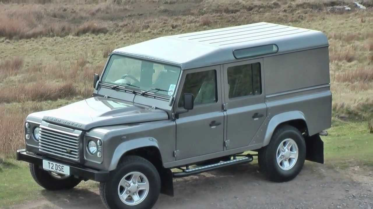 Landrover Defender 110 xs utility.wmv - YouTube