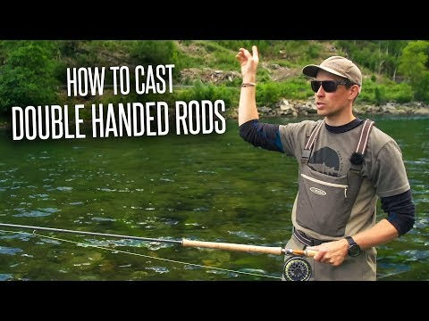 How To Cast Double Handed Rods (ft. Antti Guttorm)