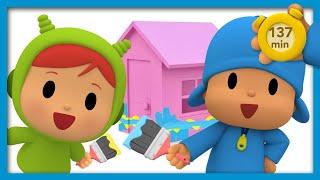 🏡 POCOYO E NINA - A Casa das Mil Cores [ 137 minutos ] | DESENHOS ANIMADOS para crianças