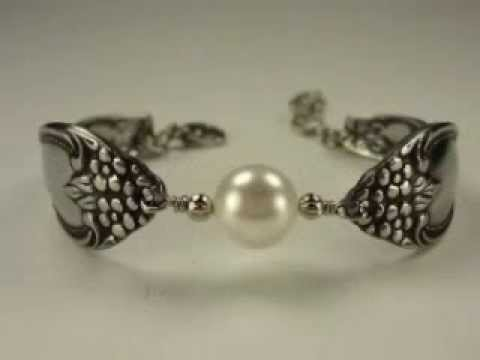 The Spoon Jewelry Showcase - A stainless steel spoon bracelet collection 3 13 by The Spoon Jeweler